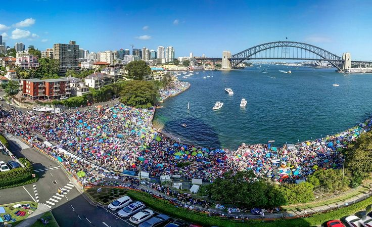 McMahons Point, gearing up for NYE 2015 www.visitingnsw.com