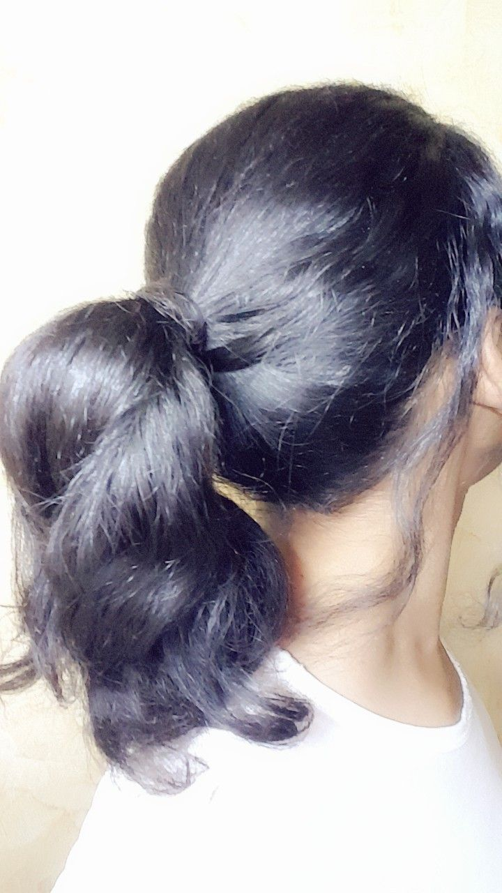 تسريحة الشعر المربوط Hair Style Hairstyle Ponytail Tie تسريحة شعر ذيل الحصان