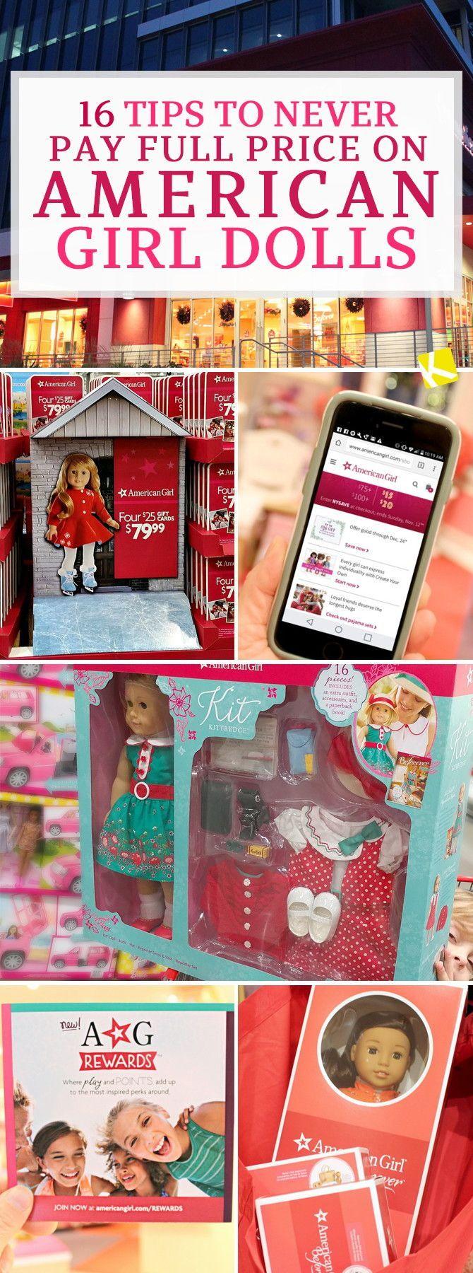 Save money on American Girl Dolls!!!