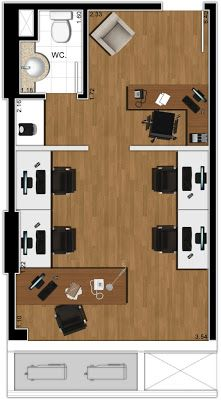 layout salas comerciais - Pesquisa Google