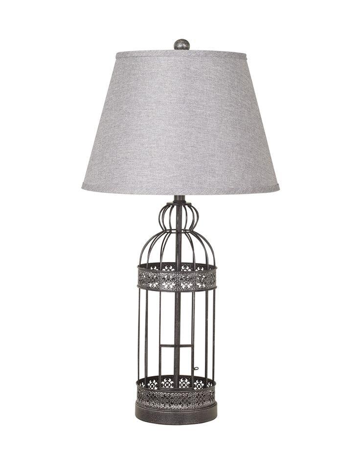 Schiler metal table lamp