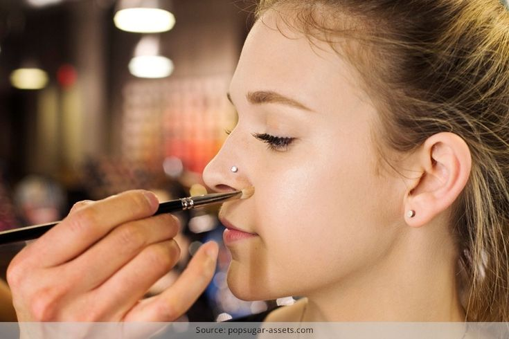 Makeup Around A Nose Piercing