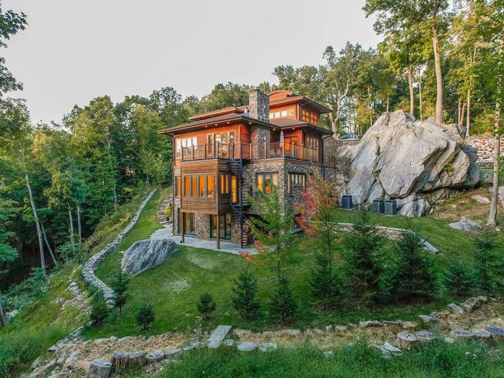 Hillside Modern Home | Armonk, New York | Julia B. Fee Sothebyu0027s  International Realty