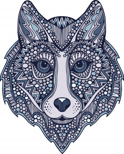 Advanced Dog Coloring Pages : Best images about printable animal coloring pages on