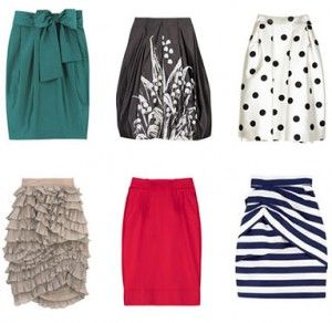 KM Image Consulting Blog » Blog Archive » Spring skirt trends 2010