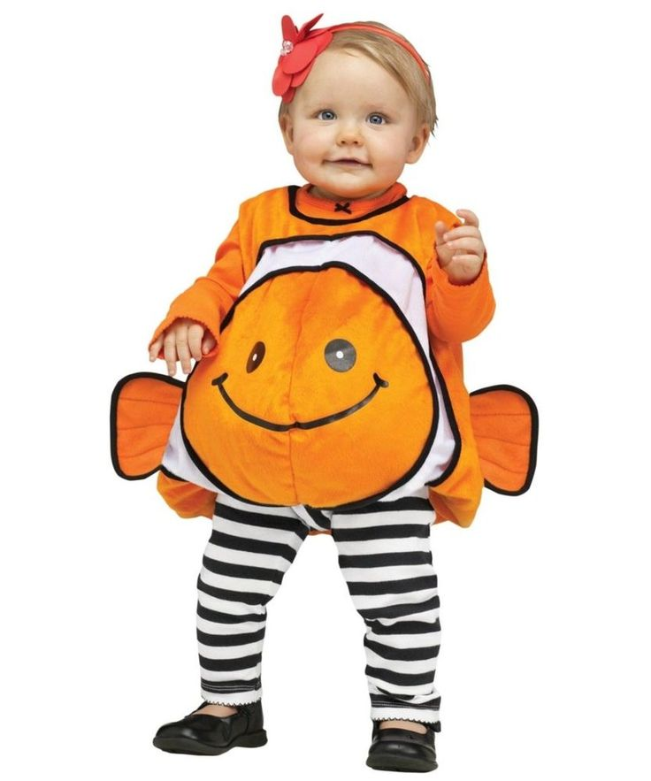 giddy clownfish baby disney costume funworldcostumes - Clearance Halloween Costumes Kids