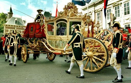 Golden Carriage Dutch Royals   Gouden Koets Koninklijke familie