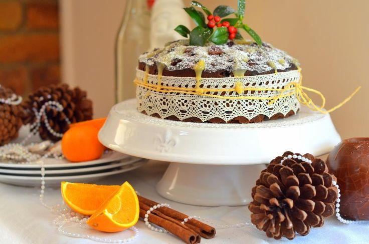 Βασιλόπιτα κέικ με μυρωδιά τσουρέκι