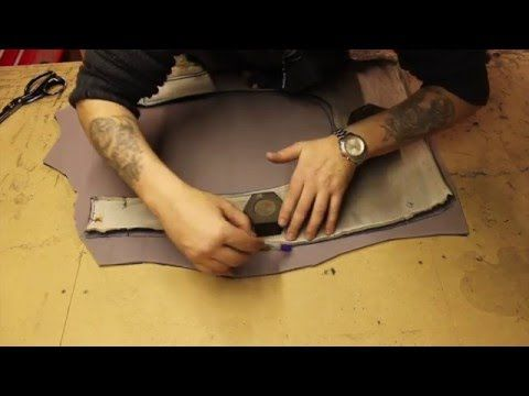 How to re-upholster a car seat. - YouTube
