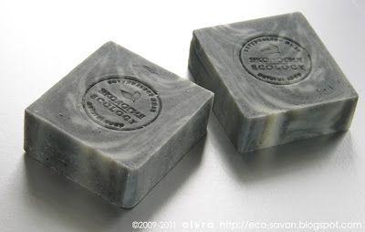 Мыло с черной глиной