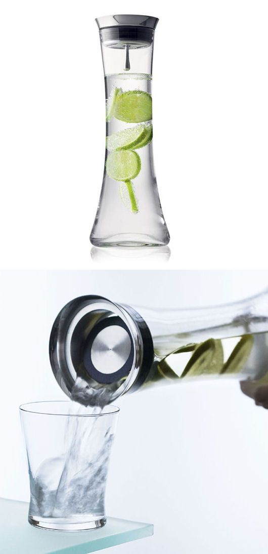 Modern Citrus infusing Water Jug ♥  - I could take this to the office - just hope the coworkers don't use it ;-)