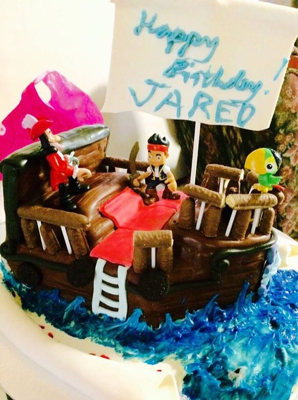 Jared 'a 4th bday By:3sagroom