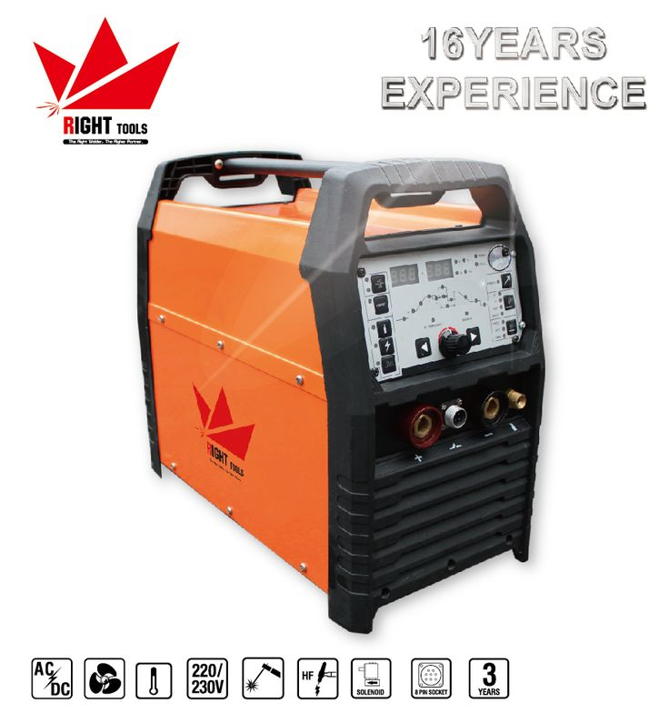 MCU tig pluse ac dc 200p high frequency aluminum tig welding machine