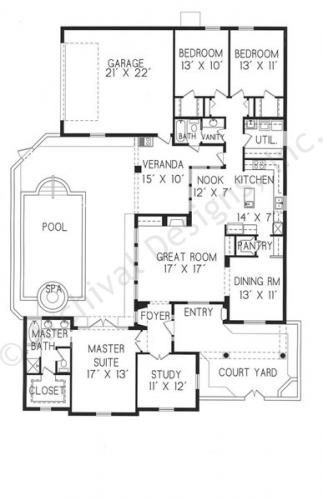 66 best spanish colonial haciendas images on pinterest for Spanish colonial floor plans