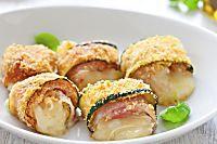 Ricetta Involtini di zucchine con pancetta e fontina