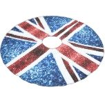 UK flag red and blue sparkles glitters Brushed Polyester Tree Skirt  UK flag red and blue sparkles glitters Brushed Polyester Tree Skirt 					 			 					 $64.95 			 by  PLdesign