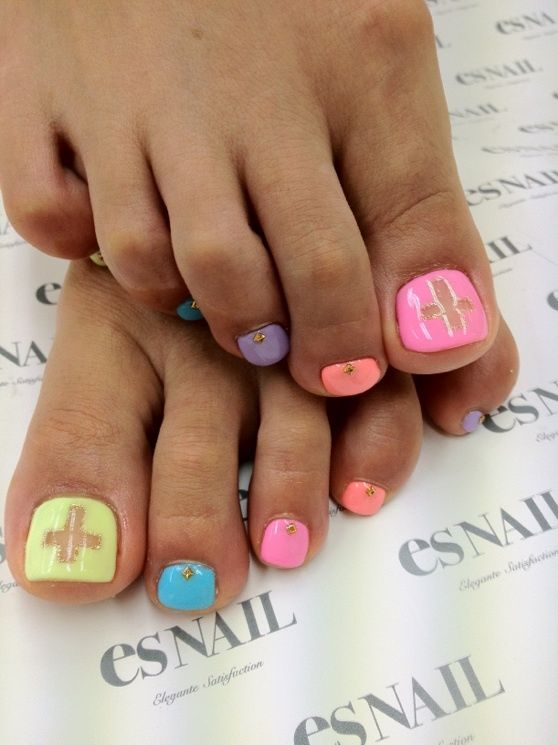 26 Best Images About Spring/Summer Toenail Designs On