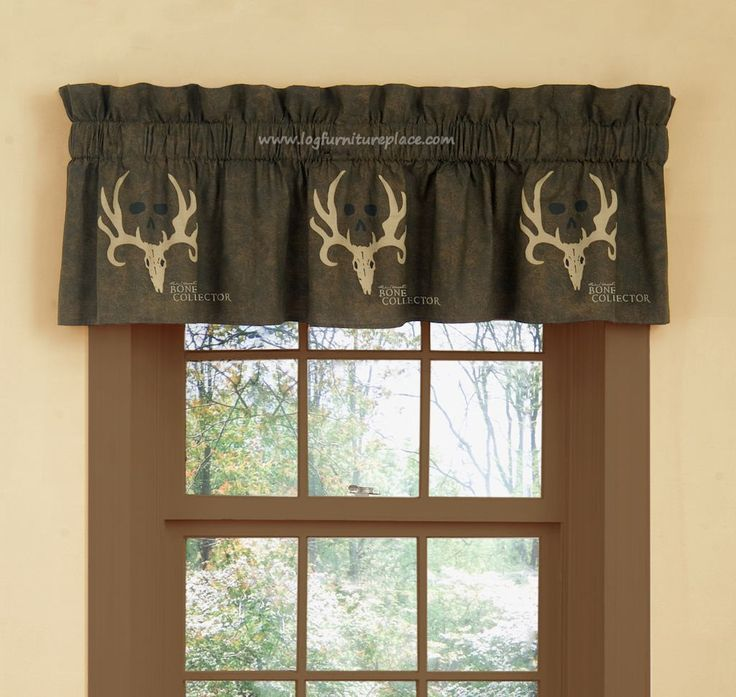 Bone Collector Valance Camouflage Amp Hunting Decor Valance Valance Curtains Scarf Valance