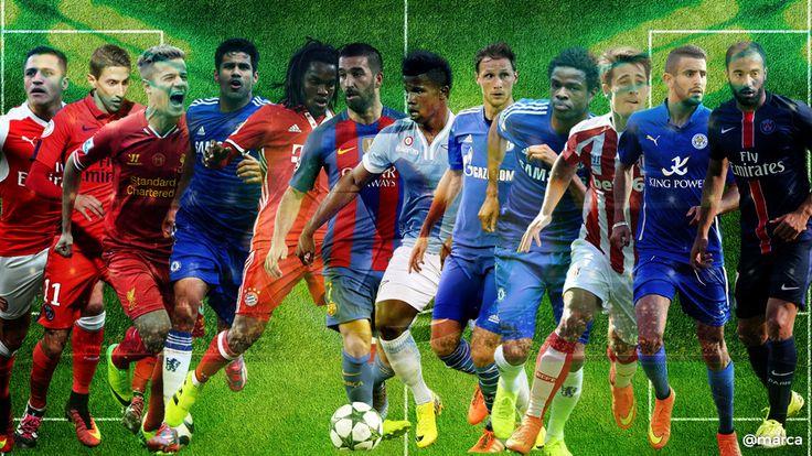 Mercado de fichajes: Los 30 jugadores que pueden cambiar de aires antes del cierre de mercado | http://www.marca.com/futbol/mercado-fichajes/2017/08/29/59a56cb2ca4741ac048b4599.html