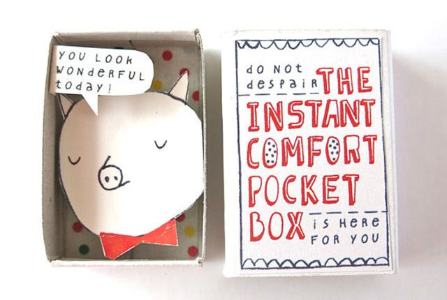 The Instant Comfort Pocket Box by Kim's Little Monsters