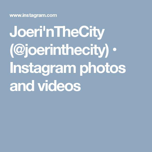 Joeri'nTheCity (@joerinthecity) • Instagram photos and videos