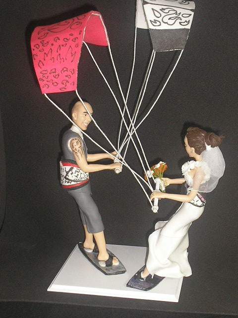 Custom Wedding Cake Toppers with very realistic figures!