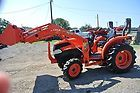 2006 34hp 4WD Kubota L3240 Tractor w quick detach loader skid steer disconnect