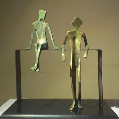 "11th - 23rd Nov.'13: Pradarshak presents ""Gossip"" Debut Solo Exhibition of Bronze Sculptures by Sushma Walavalkar-Adate."