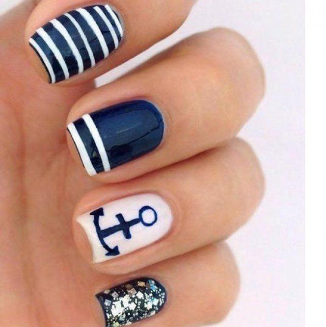Favorit Les 25 meilleures idées de la catégorie Nail art ete sur Pinterest  MU34