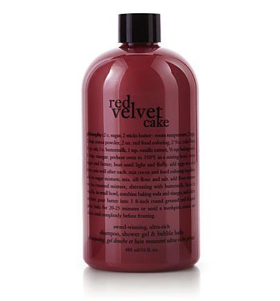 Red Velvet Cake Shampoo Shower Gel Bubble Bath