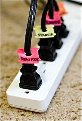 DIY idea: know before you unplug!