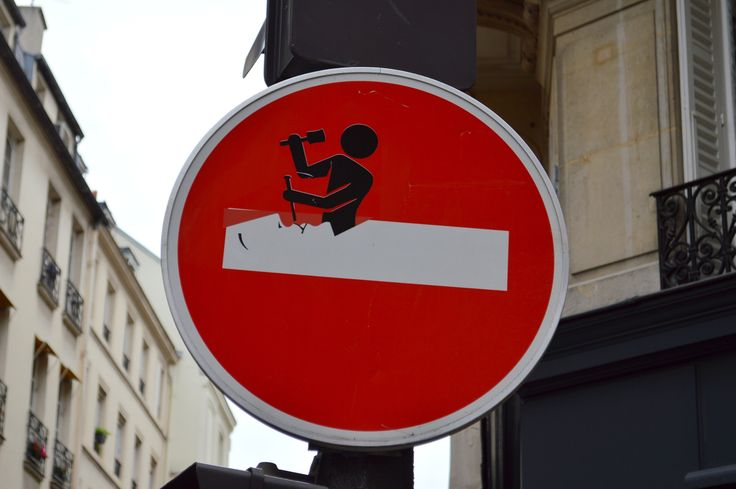 Turn left ... for love: Clet Abraham's hacked street signs – in pictures