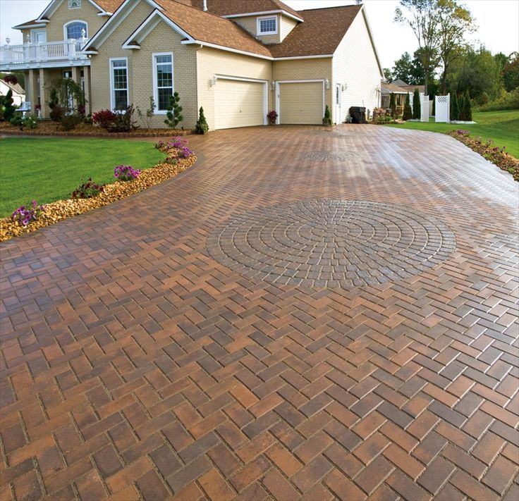 Home Driveway Design Ideas: 101 Best Driveway Designs Images On Pinterest