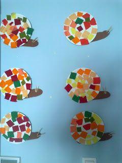 """"""" Μπόμπιρες εν δράσει.."""": Φθινοπωρινές κατασκευές στον παιδικό σταθμό"""