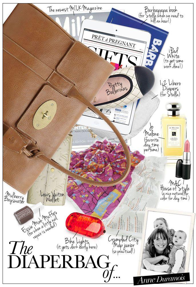 The Diaperbag of... Anne Duramois - Pret a Pregnant