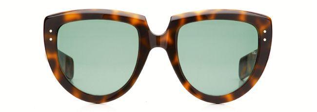 """Michael Holmes Premium Eyewear: Oliver Goldsmith """"Y-Not"""" (1966) Dark Tortoiseshell"""
