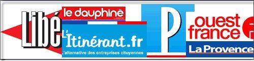 Principaux journaux français d'annonces légales et d'annonces judiciaires.