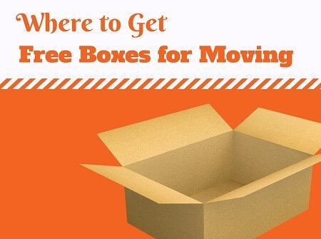 Here is a list of places where you can get free moving boxes. Use those ideas to get boxes for free for your next moving day.