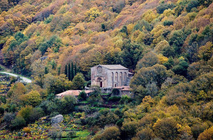 Monasterio de Santo Estevo de Ribas de Miño.