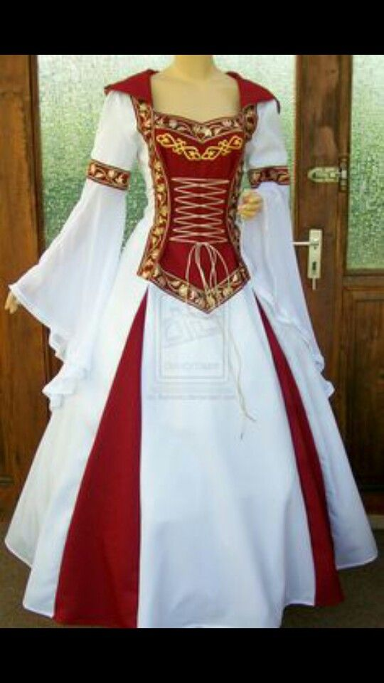 Mediaeval wedding dress