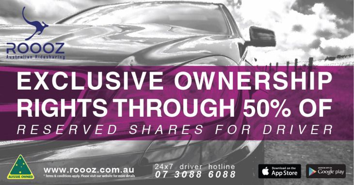 Exclusive ownership rights through 50% of reserved shares for drivers.  http://bit.ly/2oVEuSt  #drivewithROOOZ