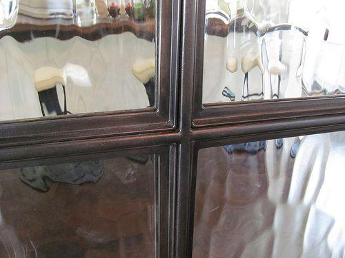 Detail Of Blackened Steel Window Frame Detail