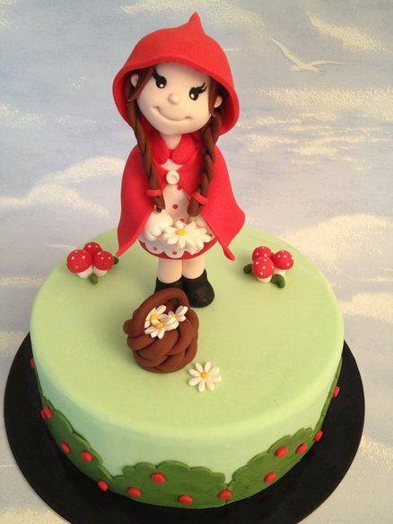 Red riding hood Cake by danida