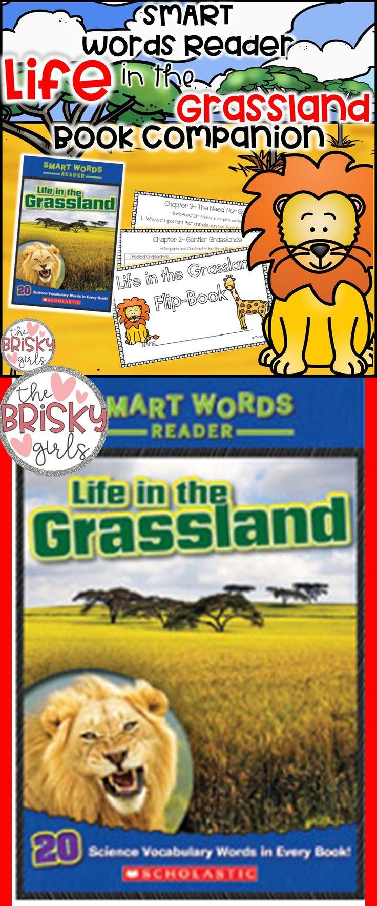 Life in the Grassland Smart Words Reader Flipbook First