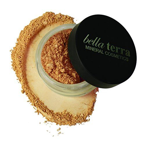 Bella Terra Cosmetics Mineral Foundation 8 g Natural -- This is an Amazon Affiliate link. You can find out more details at the link of the image.