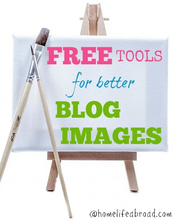 FREE Tools for Blog Images