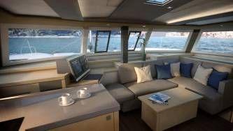 New 42 Fountaine Pajot sailing catamaran  - galley