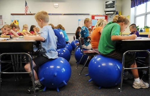 7 best stability ball seats images on pinterest classroom decor classroom organization and - Stability ball for office ...