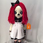 Just listed this Raggedy Ann inspired doll in my Etsy shop... www.tatteredrags.etsy.com por Tattered Rags Creepy Rag Dolls