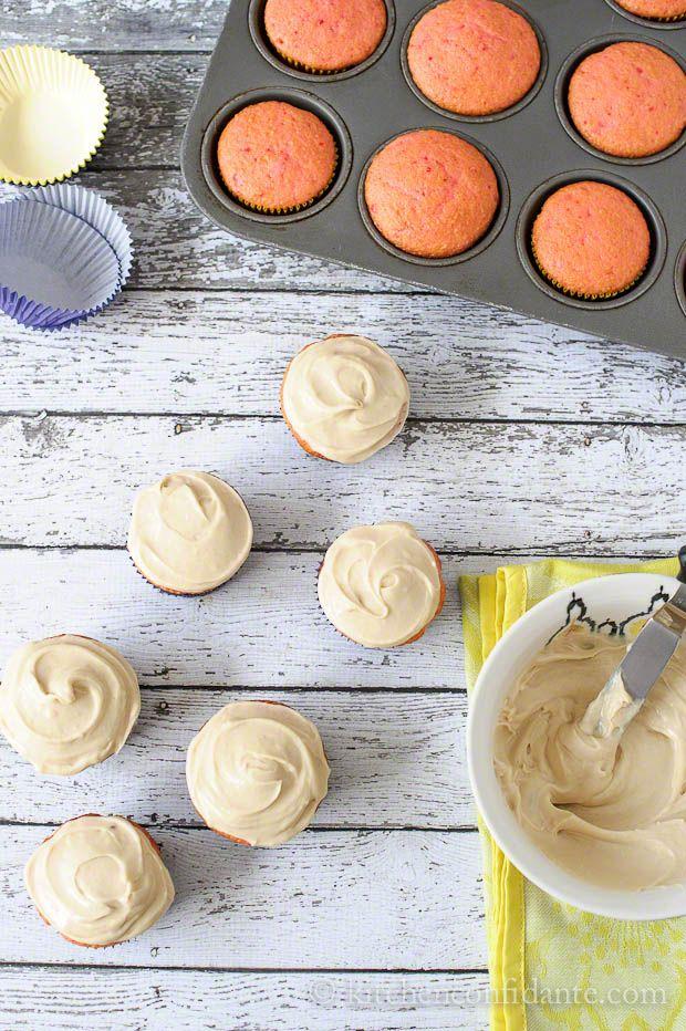 Creamy Brown Sugar Frosting @Liren Baker | Kitchen Confidante